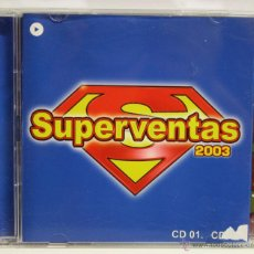 CDs de Música: DISCO CD, SUPERVENTAS 2003, 4 DISCOS, 3CD + 1DVD. Lote 120132994