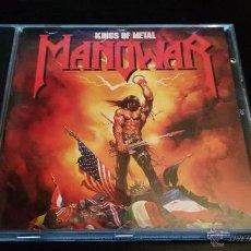 CDs de Música: MANOWAR - KINGS OF METAL. Lote 49257381