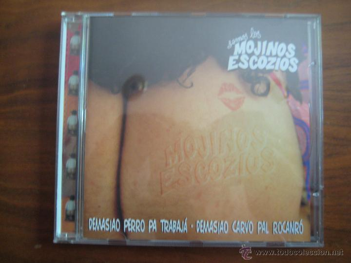SEMOS LOS MOJINOS ESCOCIOS - DEMASIAO PERRO PA TRABAJÁ · DEMASIAO CARVO PAL RACANRÓ CD (Música - CD's Rock)