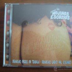 CDs de Música: SEMOS LOS MOJINOS ESCOCIOS - DEMASIAO PERRO PA TRABAJÁ · DEMASIAO CARVO PAL RACANRÓ CD. Lote 49259006