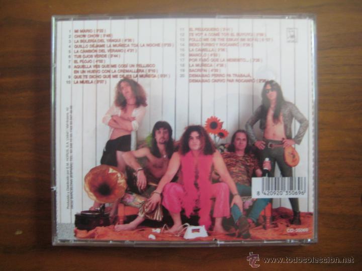 CDs de Música: semos los MOJINOS ESCOCIOS - DEMASIAO PERRO PA TRABAJÁ · DEMASIAO CARVO PAL RACANRÓ CD - Foto 2 - 49259006