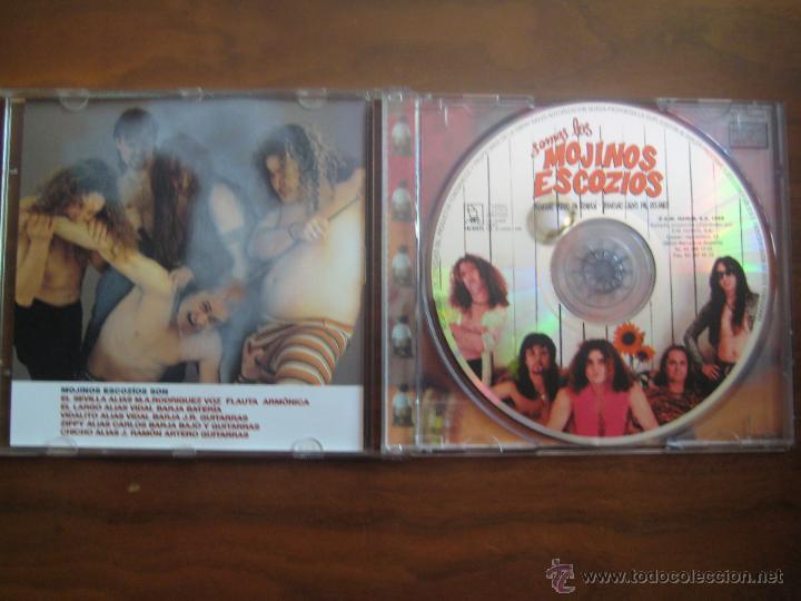 CDs de Música: semos los MOJINOS ESCOCIOS - DEMASIAO PERRO PA TRABAJÁ · DEMASIAO CARVO PAL RACANRÓ CD - Foto 3 - 49259006