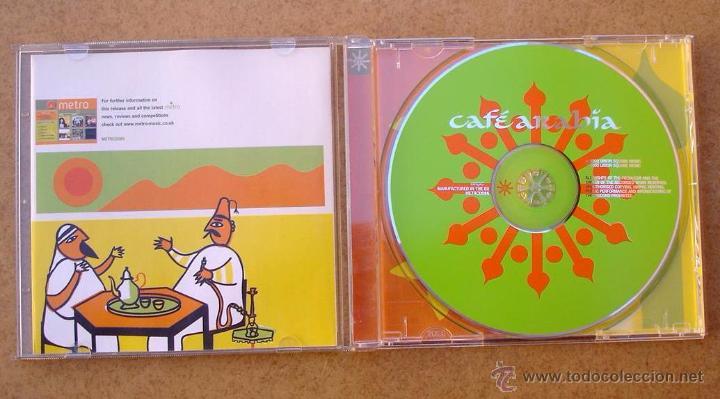 CDs de Música: CAFÉ ARABIA - RAI ROOTS & MINT TEA (CD) VARIOS - Foto 2 - 49295796