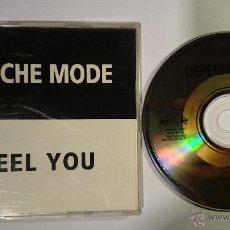 CDs de Música: DEPECHE MODE - I FEEL YOU (LIVE) (CD SINGLE PROMO 1993). Lote 49296775
