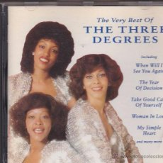 CDs de Música: THE THREE DEGREES - THE VERY BEST OF. Lote 49300947