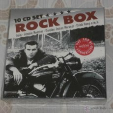CDs de Música: ROCK BOX 10 CDS ASIA - ATOMIC ROOSTER - BARCLAY J.HARVEST - URIAH HEEP - ULTRAVOX - WISHBONE....ETC.. Lote 49303833