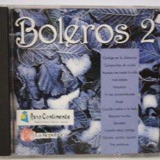 CDs de Música: DISCO CD, BOLEROS 2. Lote 49306560