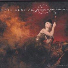 CDs de Música: ANNIE LENNOX - SONGS OF MASS DESTRUCTION - EDICIÓN LIMITADA (CD + ENHANCED CD) - DIGIPACK. Lote 49343139