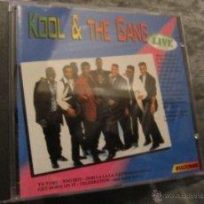 CDs de Música: KOOL AND THE GANG GREATEST HITS LIVE CD 1994. Lote 49346039