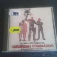CDs de Música: CD NUEVO PRECINTADO BSO BANDA SONORA ORIGINAL CINE SUBURBAN COMMANDO SOUNDTRACK HULK HOGAN . Lote 49367038