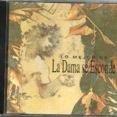 CDs de Música: LA DAMA SE ESCONDE. LO MEJOR DE ...... (CD ALBUM 1996). Lote 49370213