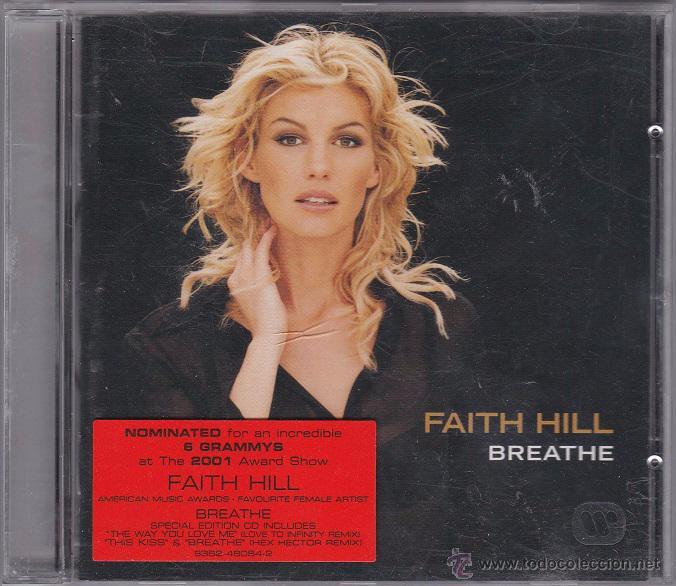 FAITH HILL - BREATHE (Música - CD's Pop)