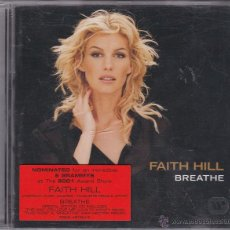 CDs de Música: FAITH HILL - BREATHE . Lote 49370730