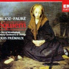 CDs de Música: FAURE + BERLIOZ - REQUIEM - 2CDS (DESPRECINTADO). Lote 49377230