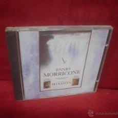 CDs de Música: ENNIO MORRICONE: THE MISSION. Lote 49409606