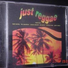 CDs de Música: JUST REGGAE. BOB MARLEY. THE UPSETTERS. ROMAN STEWART. LEE PERRY. HORACE ANDY. PETER METRO. CD . Lote 49416551