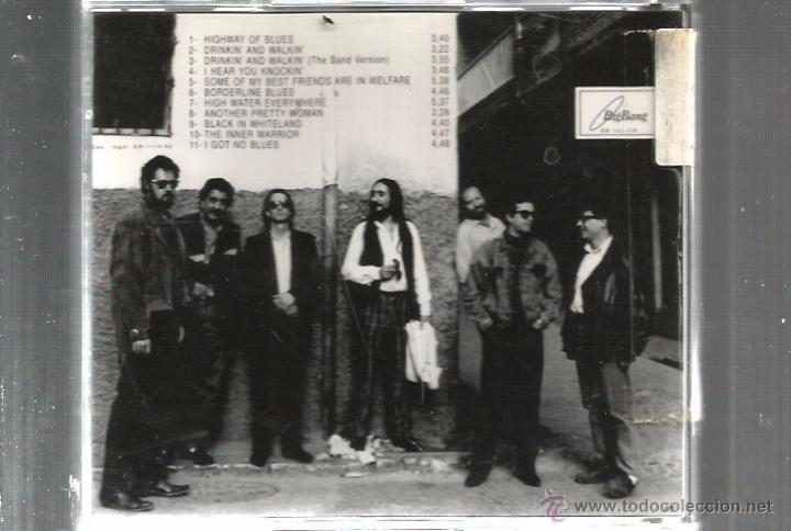 CDs de Música: CD LA BLUES BAND DE GRANADA : NEGRO EN TIERRA DE BLANCOS - Foto 2 - 49447577