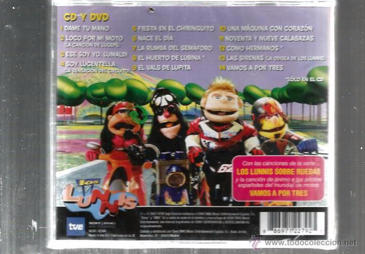 CDs de Música: CD TVE / SONNY / BMG LOS LUNNIS . DAME TU MANO - Foto 2 - 49447649