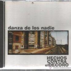 CDs de Música: CD HECHOS CONTRA EL DECORO : DANZA DE LOS NADIE . Lote 49448218