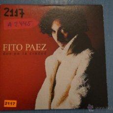 CDs de Música: CD PROMOCIONAL DE MÚSICA,(CARTÓN),DE,FITO PAEZ:DOS EN LA CIUDAD,NºA2445. Lote 49461476