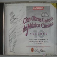 CDs de Música: MAGNIFICO CD DE - CIEN OBRAS UNICAS DE MUSICA CLASICA - VOL. 10-. Lote 49467596