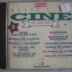 CDs de Música: MAGNIFICO CD DE MUSICA DE CINE DE LOS AÑOS 40-50- VOL-3-. Lote 49467859