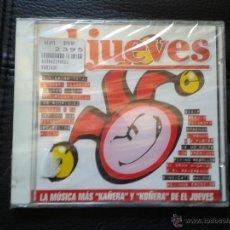 CDs de Música: CD NUEVO PRECINTADO LA MÚSICA MÁS KAÑERA Y KOÑERA DE EL JUEVES REVISTA DE HUMOR 20 TEMAS. Lote 49473590