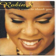 CD de Música: ROBIN S / I WANT TO THANK YOU (7 VERISIONES) / AFRICA (CD SINGLE CARTON 1994). Lote 49473817