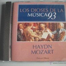 CDs de Música: MAGNIFICO CD DE - LOS DIOSES DE LA MUSICA 93 - HAYDN - MOZART -. Lote 49477960