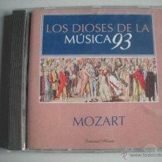 CDs de Música: MAGNIFICO CD DE - LOS DIOSES DE LA MUSICA 93 - MOZART -. Lote 49478100
