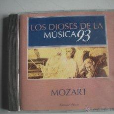 CDs de Música: MAGNIFICO CD DE - LOS DIOSES DE LA MUSICA 93 - MOZART -. Lote 49478144