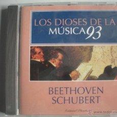 CDs de Música: MAGNIFICO CD DE - LOS DIOSES DE LA MUSICA 93 - BEETHOVEN - SCHUBERT -. Lote 49478479