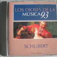 CDs de Música: MAGNIFICO CD DE - LOS DIOSES DE LA MUSICA 93 - SCHUBERT -. Lote 49478524