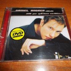 CDs de Música: DANIEL ANDREA DIME POR QUE / LOCO CORAZÓN REMIXES CD + DVD PRECINTADO 2002 ACUSTICO VIDEOS FOTOS. Lote 49478870