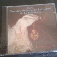 CDs de Música: CD PRECINTADO CORO NUESTRA SEÑORA DE LA SALUD DE LA RINCONADA DE TERCIOPELO SEMANA SANTA SEVILLA. Lote 49480394