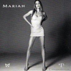 CDs de Música: CD MARIAH CAREY– # 1'S 1998 LOS NÚMEROS 1 / UNO DE LA ARTISTA POP DE LOS 90'S. Lote 49511405