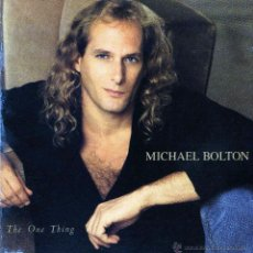 CDs de Música: CD MICHAEL BOLTON – THE ONE THING 1993 POP DE LOS 90'S. Lote 49511587
