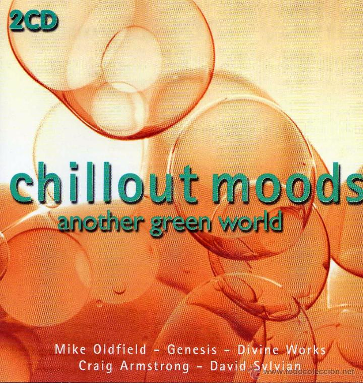 CD DOBLE CHILLOUT MOODS – ANOTHER GREEN WORD 2001 OLDFIELD GENESIS SYLVIAN (Música - CD's New age)