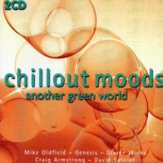 CDs de Música: CD DOBLE CHILLOUT MOODS – ANOTHER GREEN WORD 2001 OLDFIELD GENESIS SYLVIAN. Lote 49512111