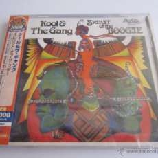 CDs de Música: KOOL & THE GANG - SPIRIT OF THE BOOGIE 1975/2015 JAPAN CD. Lote 49522744