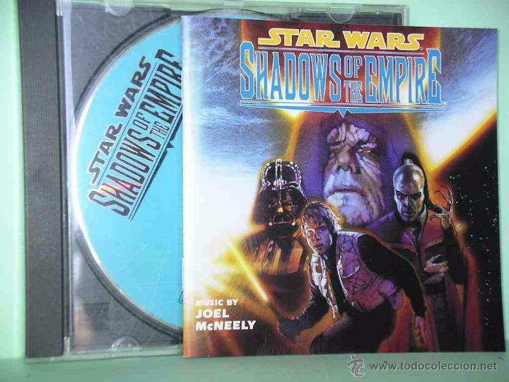 STAR WARS, SHADOWS OF THE EMPIRE, JOEL MCNELLY 1996, BSO, B S O, CD, RAREZA MUY DIFICIL, Z (Música - CD's Bandas Sonoras)