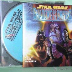 CDs de Música: STAR WARS, SHADOWS OF THE EMPIRE, JOEL MCNELLY 1996, BSO BANDA SONORA, CD RAREZA MUY DIFICIL ERCOM Z. Lote 49528244
