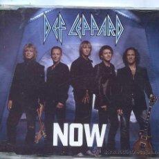 CDs de Música: DEF LEPPARD / NOW (CD SINGLE CAJA 2002). Lote 49539620