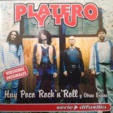 CDs de Música: PLATERO Y TU - HAY POCO ROCK'N'ROLL Y OTROS EXITOS 2001 EXTREMODURO FITO NUEVO RARO. Lote 49383679