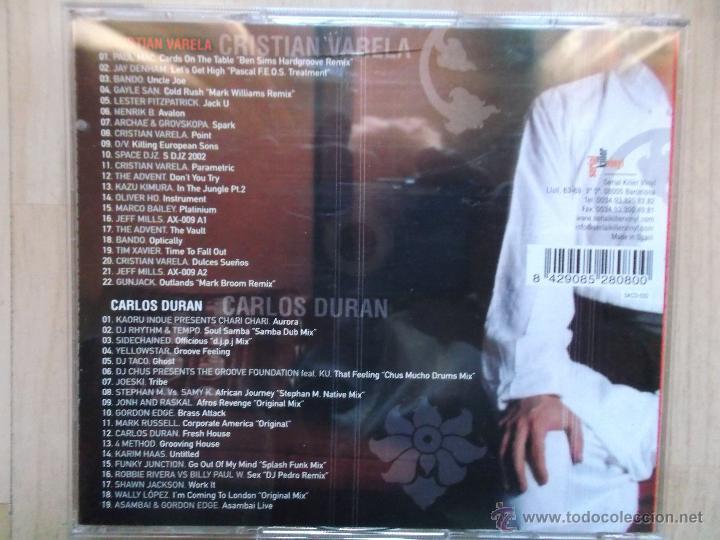 CDs de Música: CRISTIAN VARELA VS CARLOS DURAN - Foto 2 - 49559993