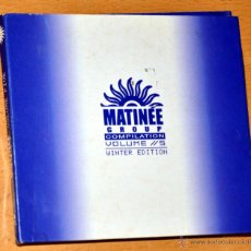 CDs de Música: DOBLE CD ÁLBUM: MATINÉE GROUP - COMPILATION VOLUME 5 - WINTER EDITION - MATINÉE 2001. Lote 49561365