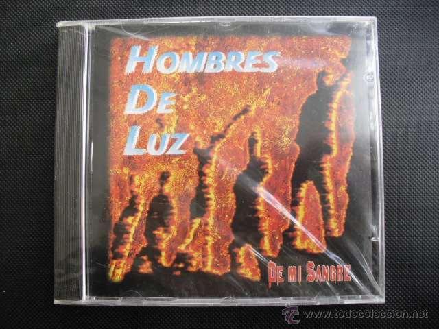 HOMBRES DE LUZ. DE MI SANGRE. CD ALBUM 1999, PRECINTADO. (Música - CD's Rock)