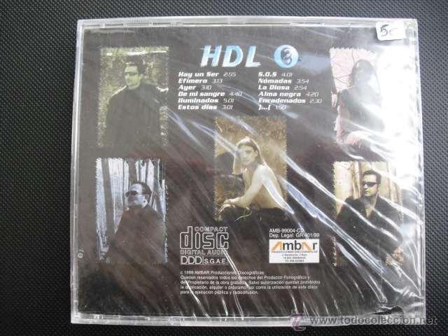 CDs de Música: HOMBRES DE LUZ. DE MI SANGRE. CD ALBUM 1999, PRECINTADO. - Foto 2 - 49564626