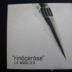 CDs de Música: RINOCEROSE. LE MOBILIER. CD SINGLE PROMO CARTÓN, 1999.. Lote 49564882
