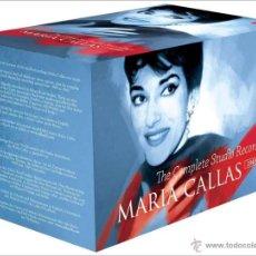 CDs de Música: MARÍA CALLAS * 70 CD * COMPLETE STUDIO RECORDINGS * CAJA PRECINTADA. Lote 49567766